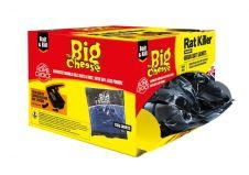 The Big Cheese Rat Killer Grain Bait - 50 x 150g