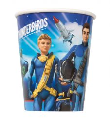 Thunderbirds Cups 9 Oz (Pack of 8)