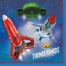 Thunderbirds Lunch Napkin (Pack of 16)