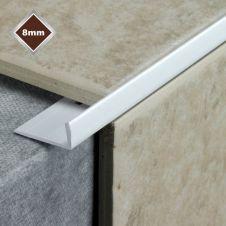 Tile Rite 8mm L Profile PVC Tile Trim - White