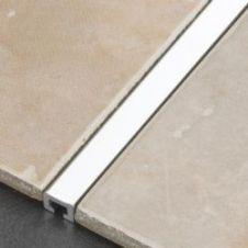 Tile Rite Silver Listello Strip Tiles - 2.44m x 10mm
