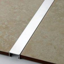 Tile Rite Silver Listello Strip Tiles - 2.44m x 20mm