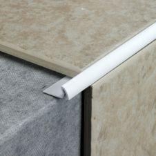 Tile Rite Tile Edging Standard - 2.4m x 7mm White