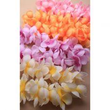 Tonal Fabric Flower Garland