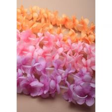 Tonal Fabric Flower Garland Bandeau 3 Assorted Color