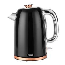 Tower 1.7L Stainless Steel Kettle - Black & Rose Gold