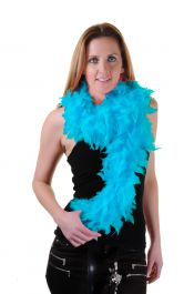 Turquoise Feather Boa High Quality