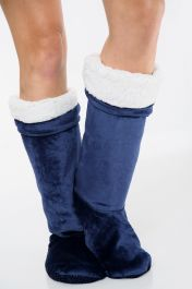 Ultra Plush Blue Long Shoes