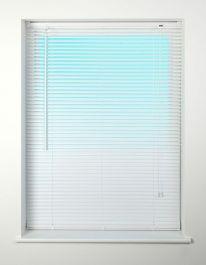 Universal PVC Miniblind White - 180cm - 25mm