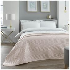 VELVET TOUCH BED SPREAD CHAMPAGNE