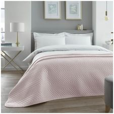 VELVET TOUCH BED SPREAD PINK