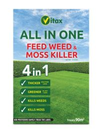 Vitax All In One Feed Weed & Moss Killer Box - 90sqm