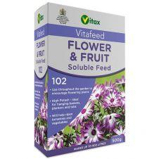 Vitax Flower & Fruit Soluble Feed - 500g