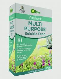 Vitax Multi Purpose Soluble Balanced Feed - 500g