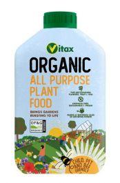 Vitax Organic All Purpose Plant Food - 1ltr