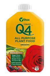 Vitax Q4 All Purpose Liquid - 1L