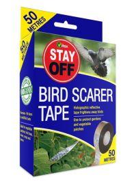 Vitax Stay Off Bird Scarer Tape - 50m