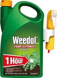 Weedol Fast Acting Weedkiller - 3L