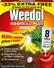 Weedol Rootkill Plus Liquidose - 6 Tubes Plus 2 Free