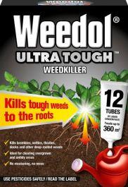 Weedol Ultra Tough - 12 Tubes