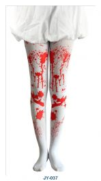 White Bloody Tights