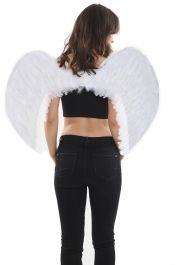 White Feather Wings Medium(Folding)