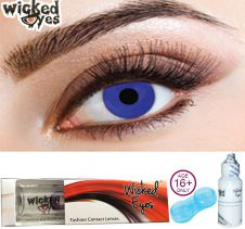 Wicked Eyes Electric Blue