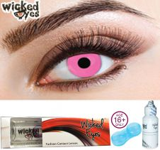 Wicked Eyes Posy Pink