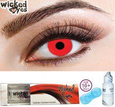 Wicked Eyes Red Devil