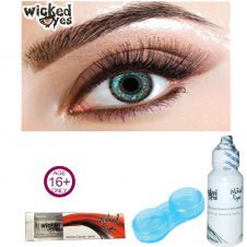 Wicked Eyes Two Tone Aqua