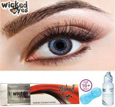 Wicked Eyes Two Tone Blue