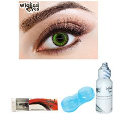 Wicked Eyes Two Tone Green
