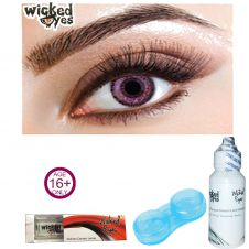 Wicked Eye Two Tone Violet