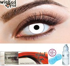 Wicked Eyes UV White