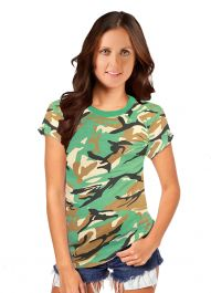 Wickedfun Women Camouflage T-Shirts
