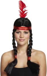 Wig American Indian Female 200g