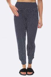 Women Floral Dots Geometrical Print Alibaba Harem Trousers