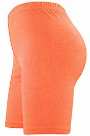 Womens ladies cycling shorts active wear Coral colour