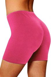 Womens ladies cycling shorts active wear Rose Pink colour