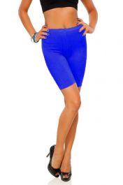 Womens ladies cycling shorts active wear Royal Blue colour