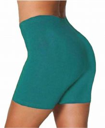Womens ladies cycling shorts active wear Teal colour