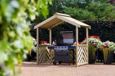 Woodshaw Hampton Barbecue Shelter