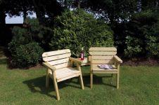 Woodshaw Hampton Companion Bench