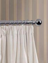 Woodside Curtain Rings Pack 6 - Chrome Finish