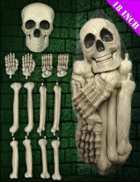XL Blow Moulded Skeleton