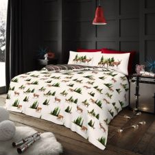 Xmas Forest Stag Duvet Sets