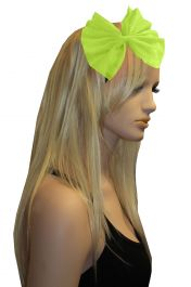 Yellow Net Flower Head Band