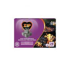 Zip High Performance Odourless Firelighters - 28 Cubes