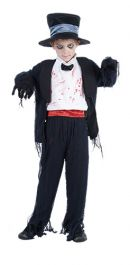Zombie Groom Children Costume