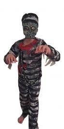 Zombie Prisoner Dress With Mask